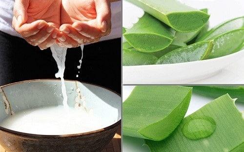 Mặt nạ nha đam nước vo gạo giúp làm đẹp da hiệu quả