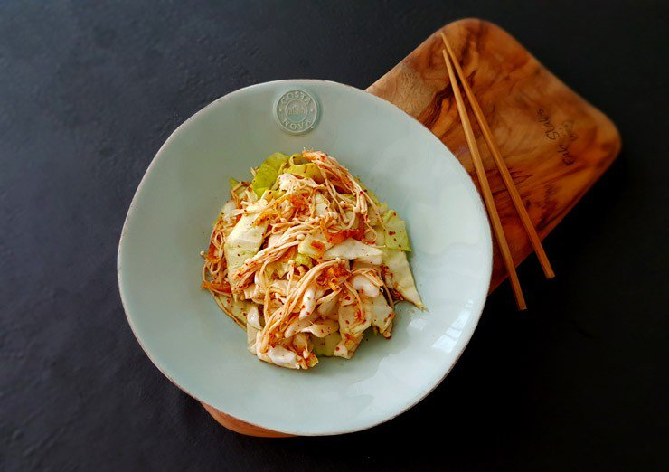 Thải độc, giảm cân cực ngon với món bắp cải trộn