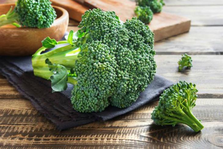 Bông cải xanh rất nhiều chất dinh dưỡng tốt cho da.