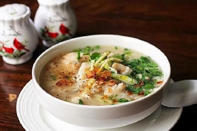 Cháo cá chép là món ăn đầy dinh dưỡng