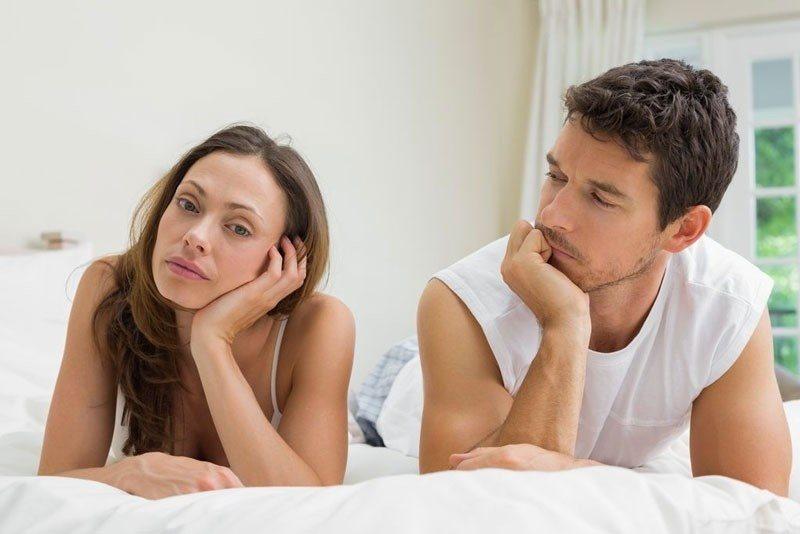 Phụ nữ suy giảm ham muốn do đối tác
