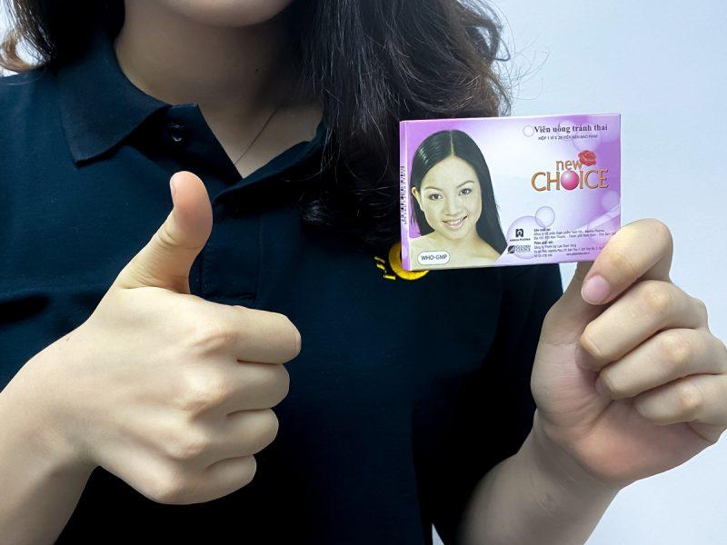 Thuốc tránh thai New Choice - Thương hiệu gắn liền với phụ nữ Việt.