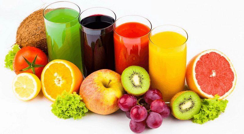 Nước ép trái cây rất tốt cho sức khỏe