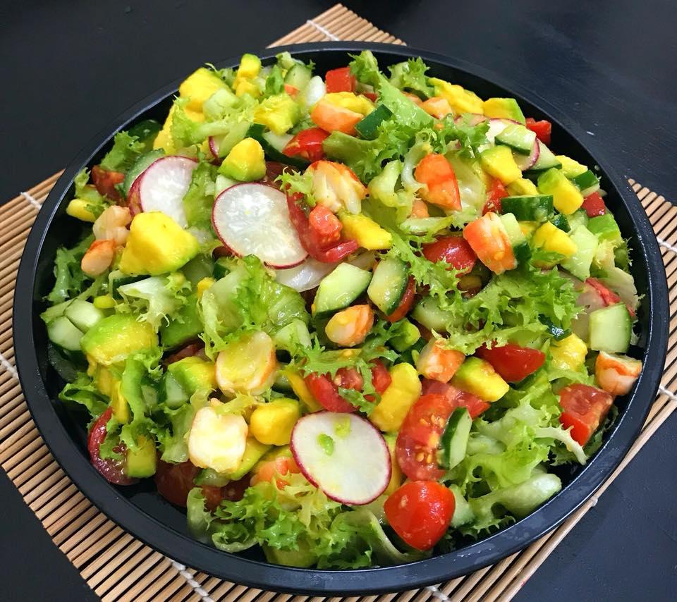 Salat ăn ngon và dễ làm