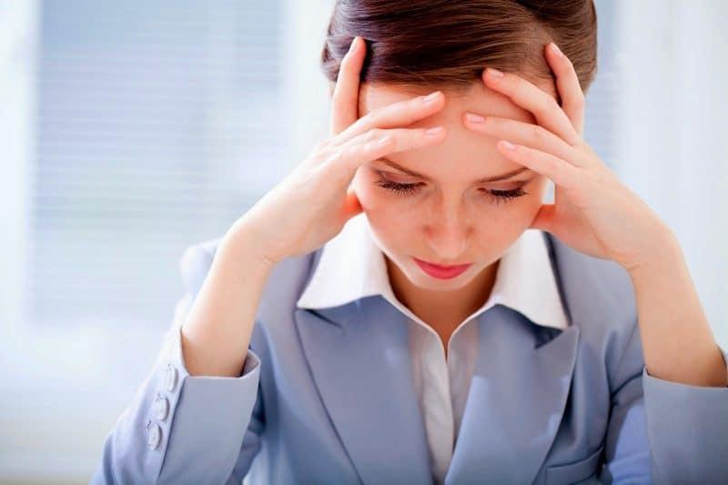 Phụ nữ gặp tình trạng mệt mỏi, stress do công việc, cuộc sống