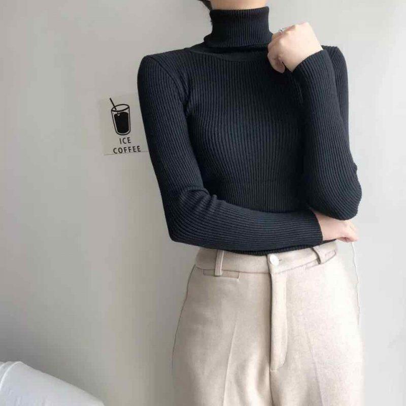 5 mẫu áo len nữ sang xịn dễ phối đồ mà chị em cần có