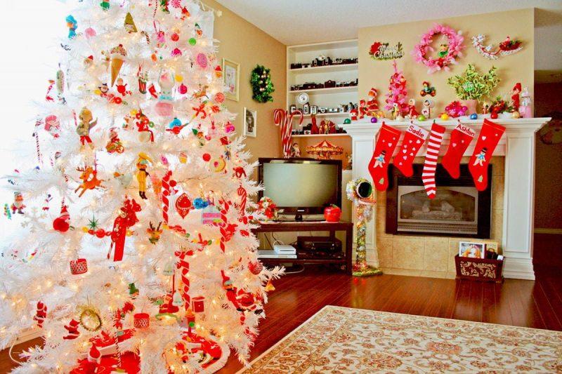 Trang trí nhà bếp cũng có không khí Noel