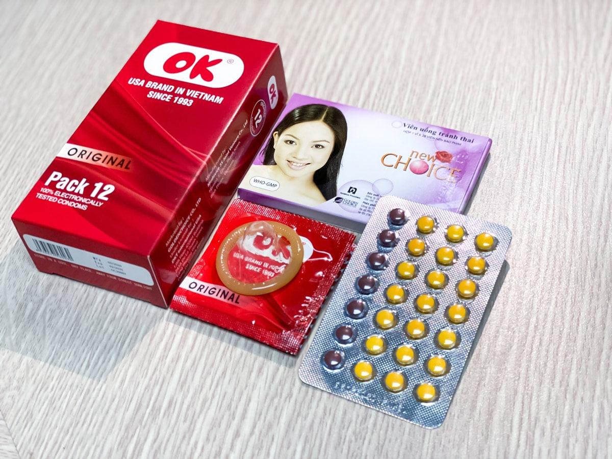 Nên kết hợp sử dụng cùng những biện pháp tránh thai khác