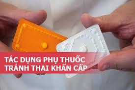 Tác dụng phụ của thuốc tránh thai