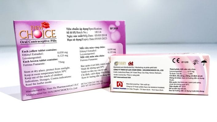 Thuốc tránh thai new choice