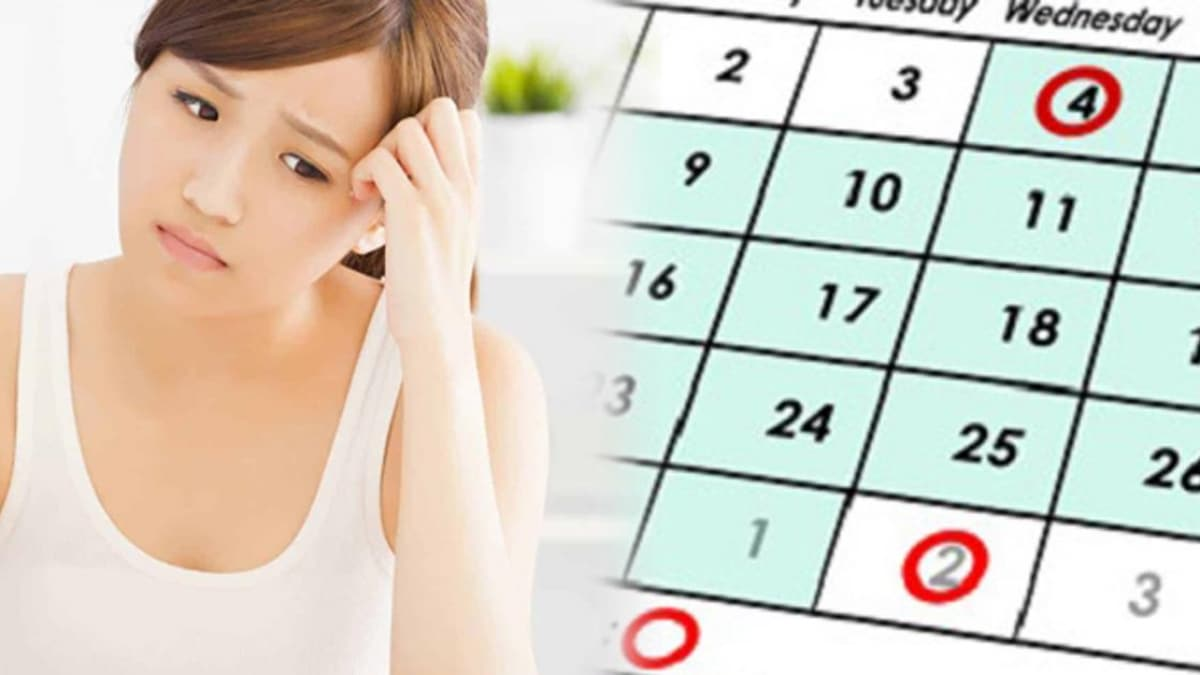 Tình trạng có kinh 2 lần trong 1 tháng ở nữ