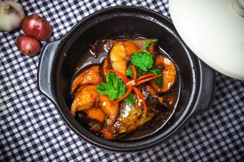 Tết cổ truyền rất nhiều gia đình miền Bắc kho 1 nồi cá chính là 1 món ăn ngon