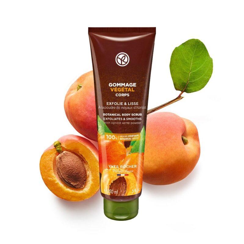 Yves Rocher Apricot Botanical Body Scrub