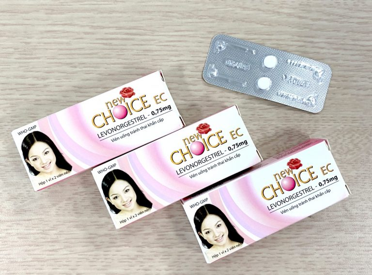 Thuốc tránh thai khẩn cấp Newchoice EC giúp phòng tránh thai hiệu quả