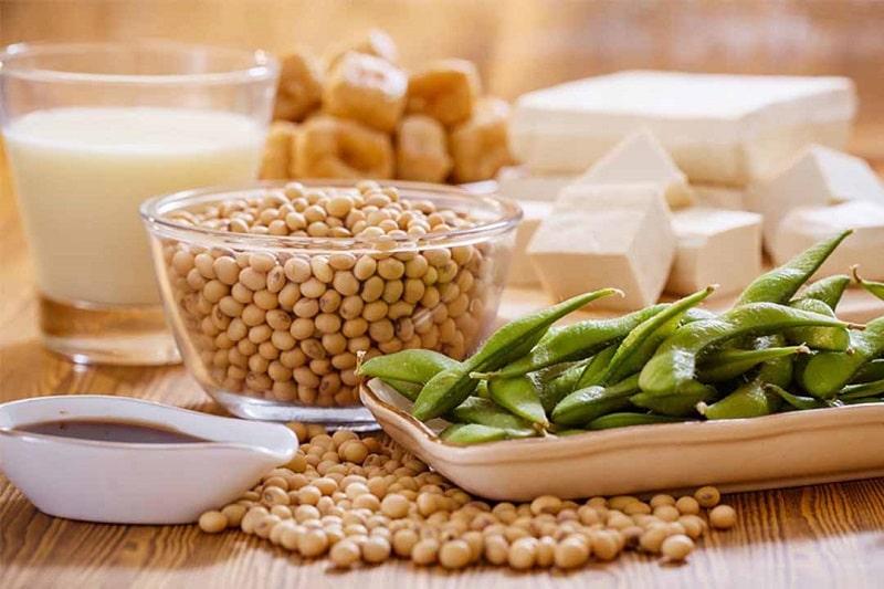 Chị em có thể luân phiên sử dụng nhiều loại sản phẩm khác nhau được chế biến từ đậu nành