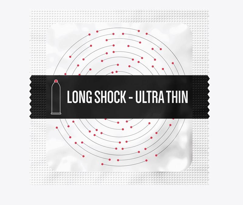 Bao bì của Long Shock – Ultra Thin đẹp mắt