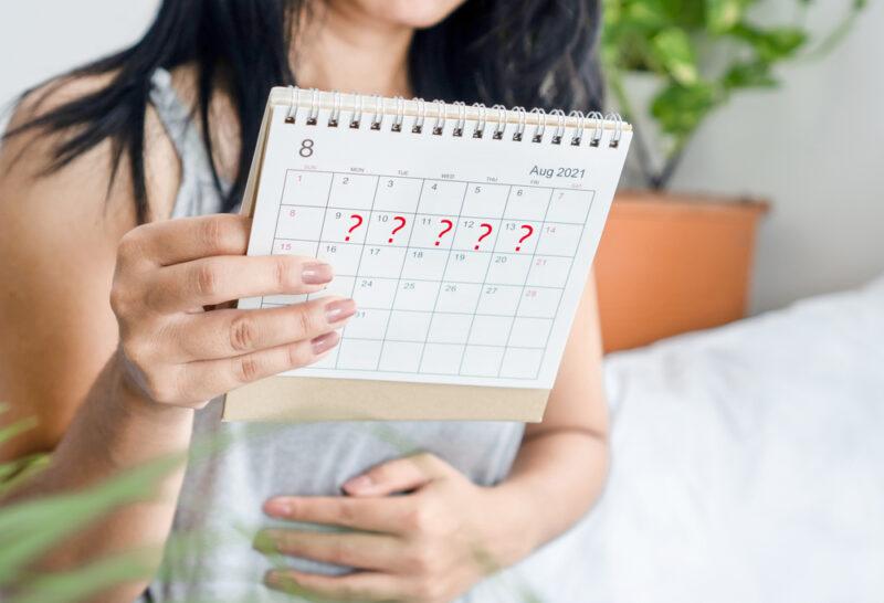 Có kinh sớm hoặc trễ do căng thẳng